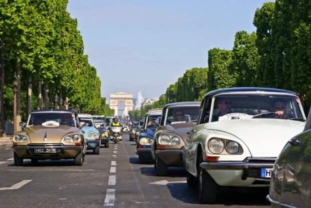 Citroen DS: из Парижа с любовью