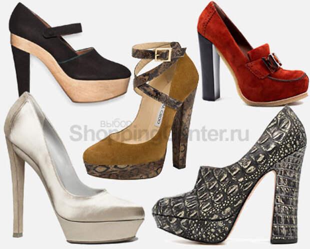 Модная обувь 2015. Женские модные туфли на каблуке