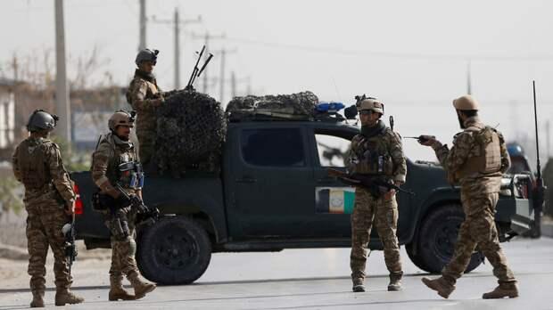 Трое полицейских погибли при взрыве в Афганистане