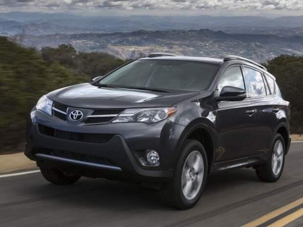Lexus RX и Toyota RAV4 получили новые системы безопасности