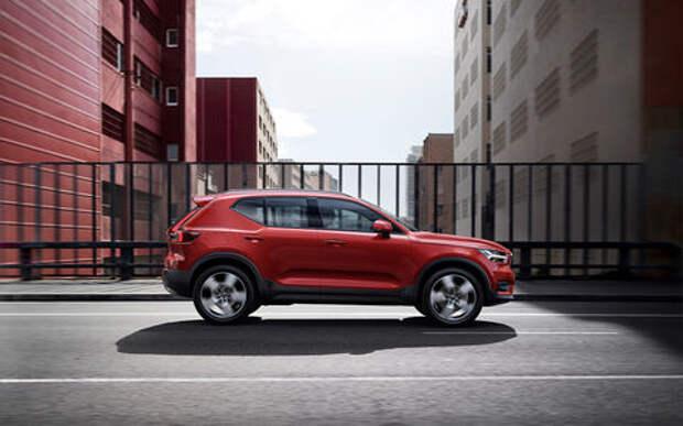 Volvo повысила цены на кроссовер XC40