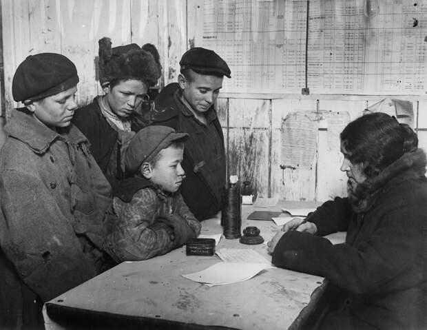 waif08 Советские беспризорники 1920 х годов