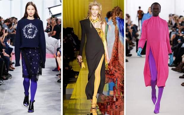 Цветная революция: с чем носить яркие колготки