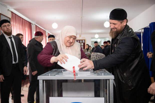 Кадыров поставил мировой рекорд на выборах