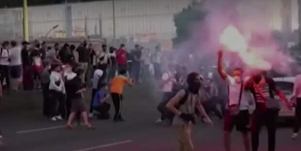 Париж присоединился к беспорядкам в США