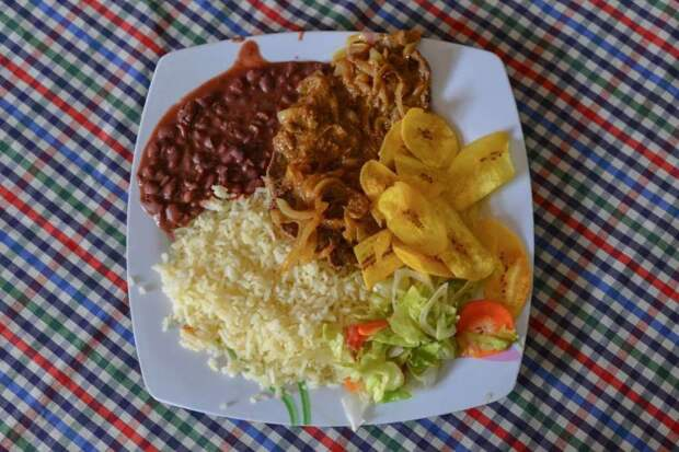 Галло пинто (Коста-Рика) блюдо, еда, туризм