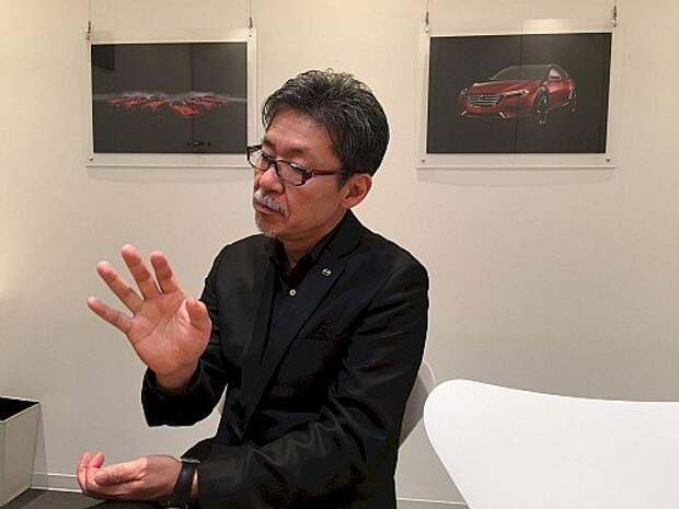 Главный дизайнер Mazda Икуо Маэда