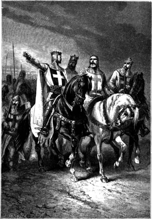 Четыре вождя Первого крестового похода. Альбрехт Дюрер