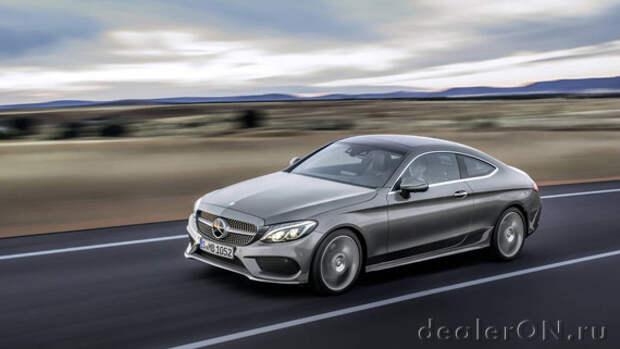 Купе Mercedes-Benz C300 2017 дебютировало пере Франкфуртским автосалоном [Фотогалерея]