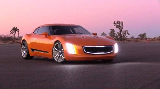 Концепт Kia Stinger GT4