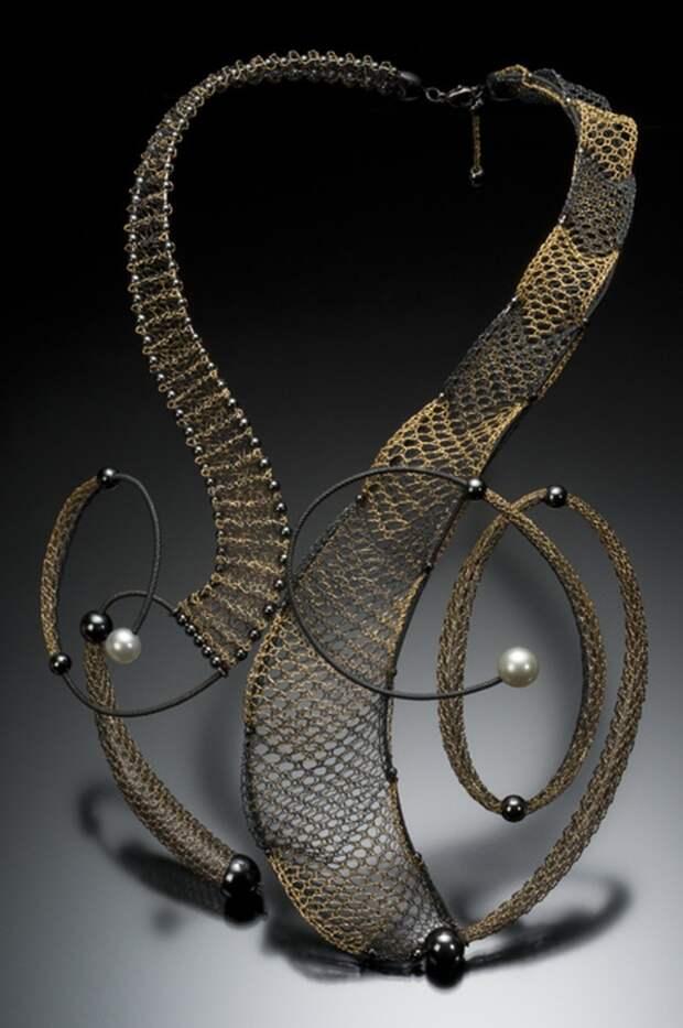 Lauran Sundin Колье (золото, серебро, жемчуг)