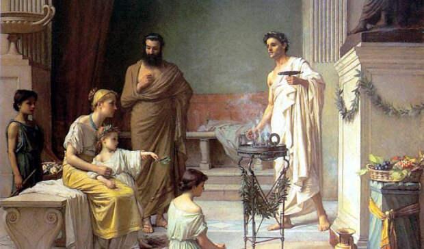 Древняя ГрецияДревние греки не даром называли оливковое масло