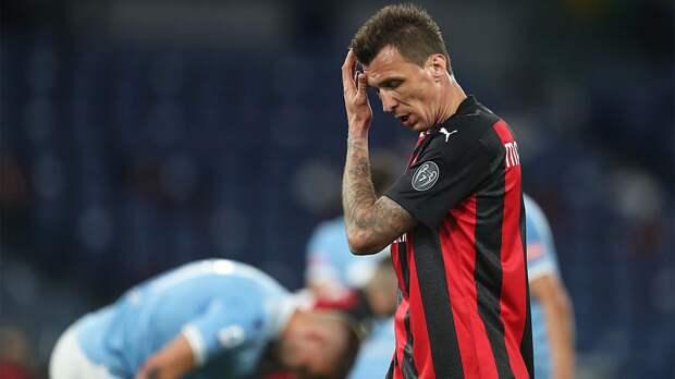 «Лацио» разгромил «Милан» в Серии А