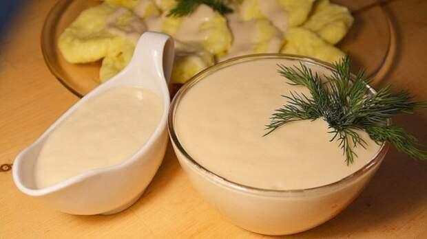 Вкусный и полезный соус с крахмалом вместо муки / Фото: 4allwomen.ru