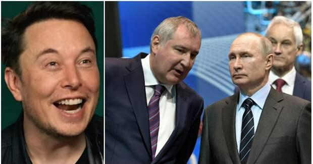 """Фото """"Батут работает"""": НАСА и Маск в прямом эфире посмеялись над Рогозиным"""