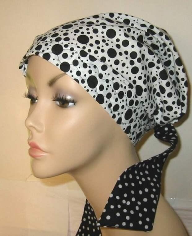 Оригинальный головной убор можно сшить своими руками. На заметку рукодельницам.