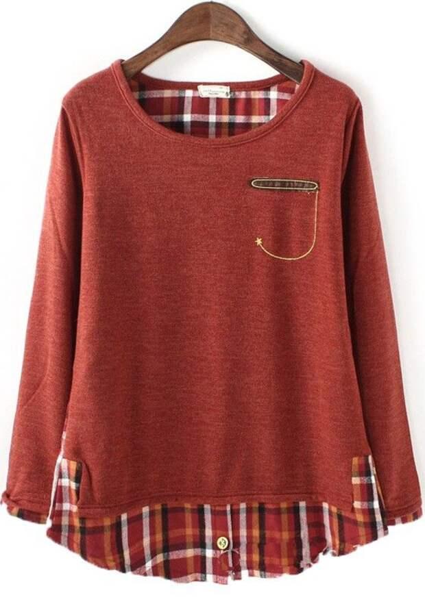 Переделка старой блузки