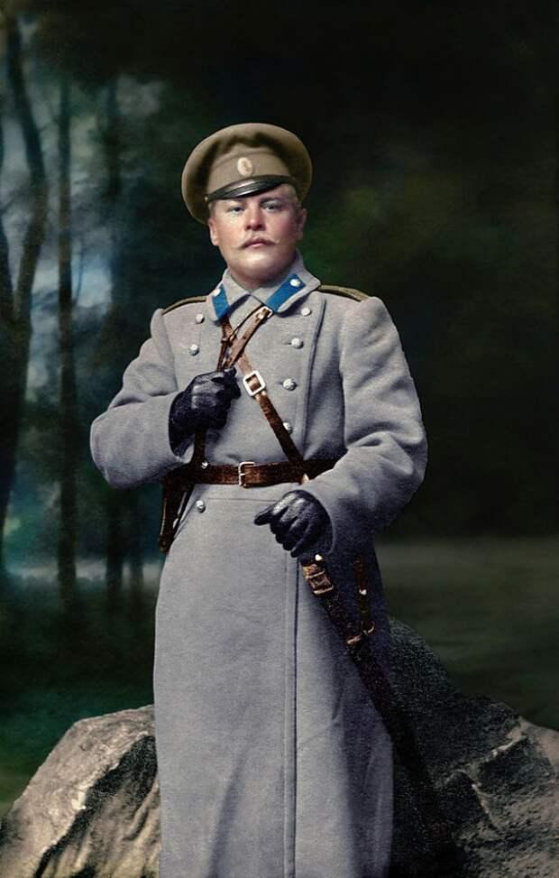 Россия во время Первой мировой войны на цветных фото высокого качества