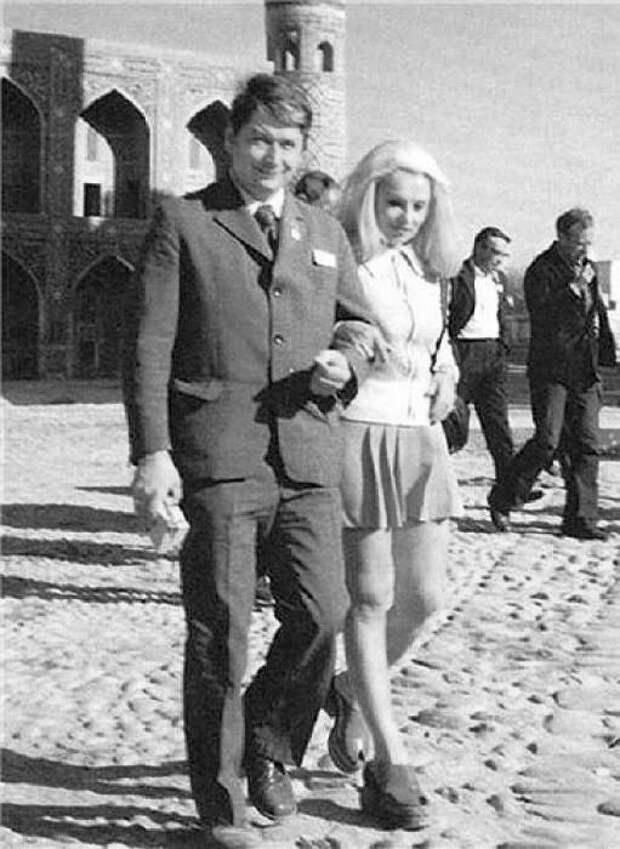 Наталья Кустинская и Борис Егоров. / Фото: www.interesno.cc