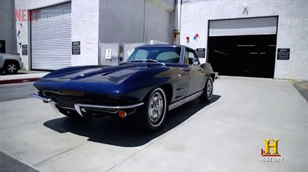 1963 split window Corvette Sting Ray