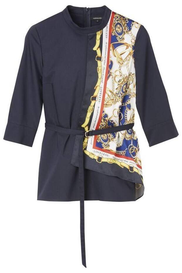 блузки с платками