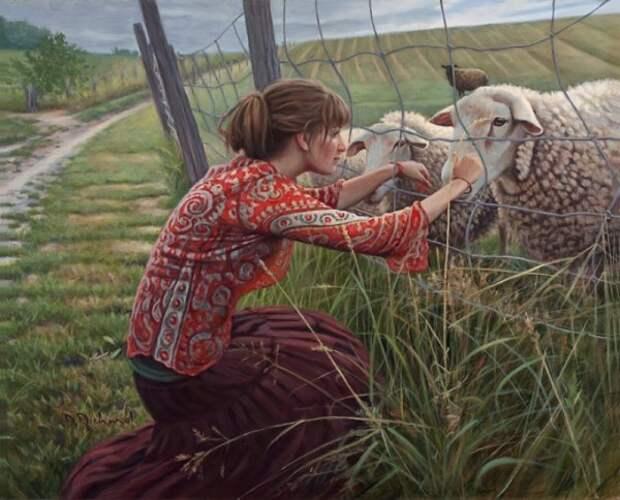 Летние мотивы в картинах Даниэль Ричард