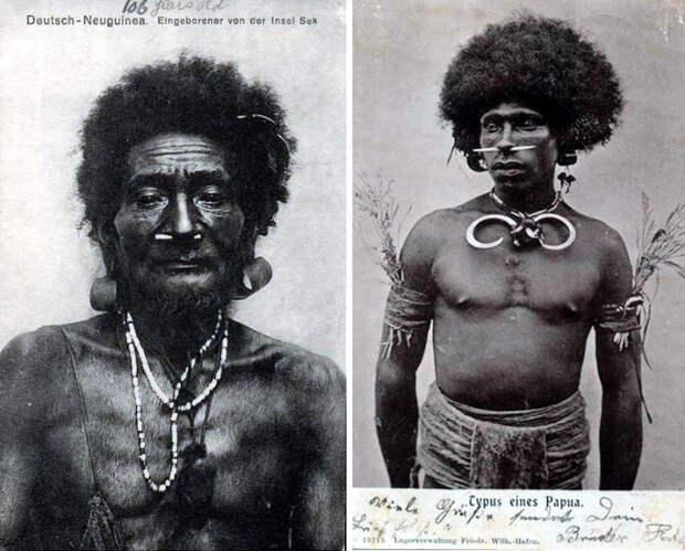 Шокирующие колониальные открытки: героические колонисты, рекламные проспекты и обнажённые туземки