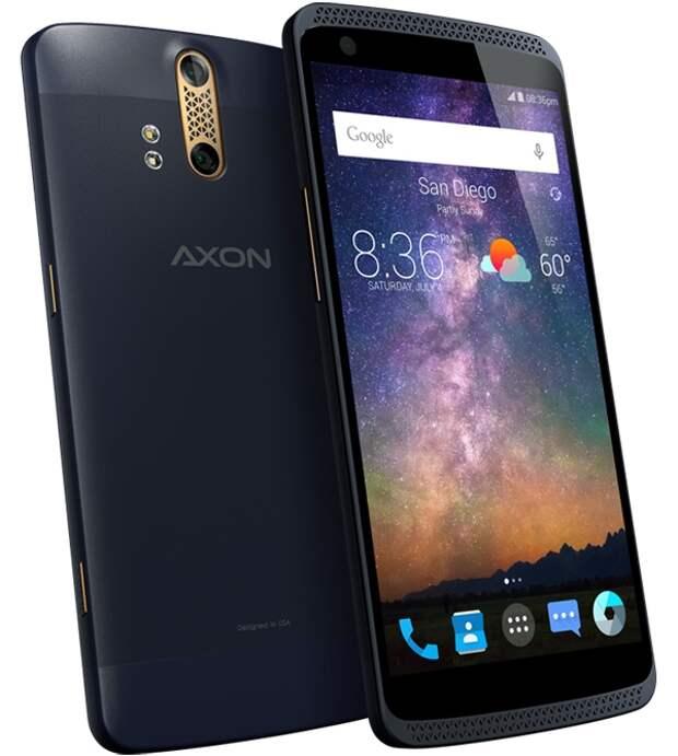 Смартфон ZTE Axon Phone получит сдвоенную камеру и 4 Гбайт ОЗУ