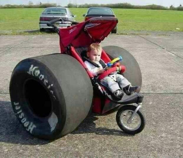 1. Когда размер имеет значение. детские коляски, креатив, родители