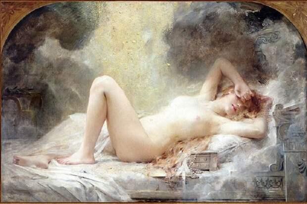 Миф о пролитом золоте на юную деву
