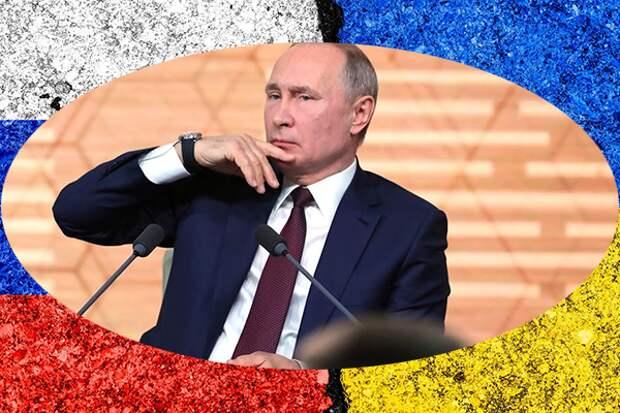 """Украинских патриотов довели до """"белого каления"""" слова В.В. Путина о государственности Украины"""