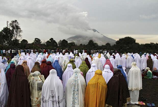 Празднование Ураза-байрама по всему миру
