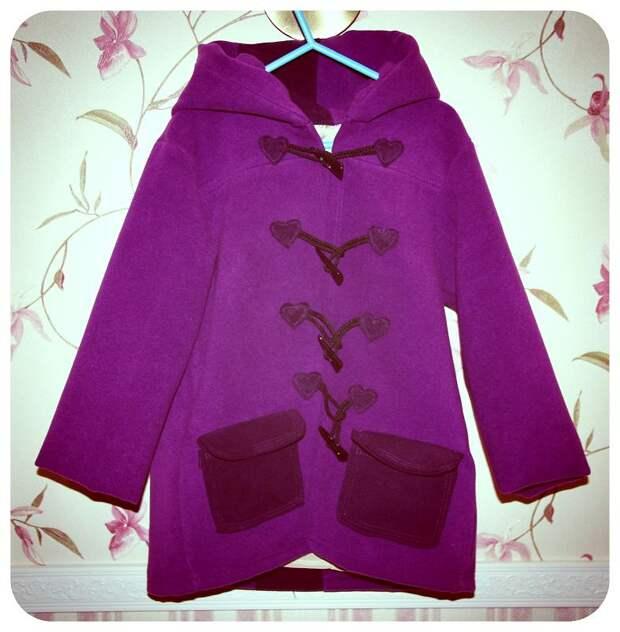 Шьем пальто для девочки,мастер-класс
