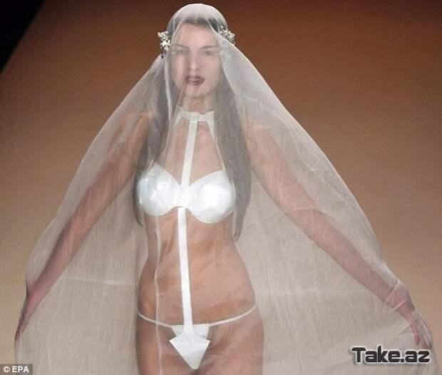 Для самых раскрепощенных невест... мода, платья, прикол, свадьба