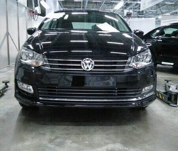 Volkswagen готовит обновление российского седана Polo