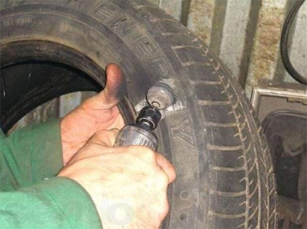 Ремонт боковых порезов шин своими руками
