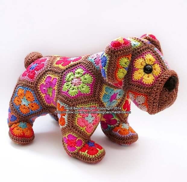 Вязаные игрушки Хайди из ЮАР