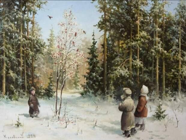художник Владимир Краевский картины – 60