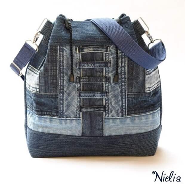 Nielia - сумки из джинсов