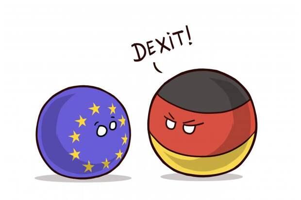 Выход Германии из Евросоюза, русофобия в Чехии и Байден против сланцевиков