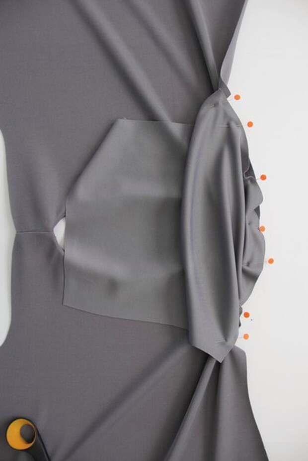 Платье без выкройки (Diy)