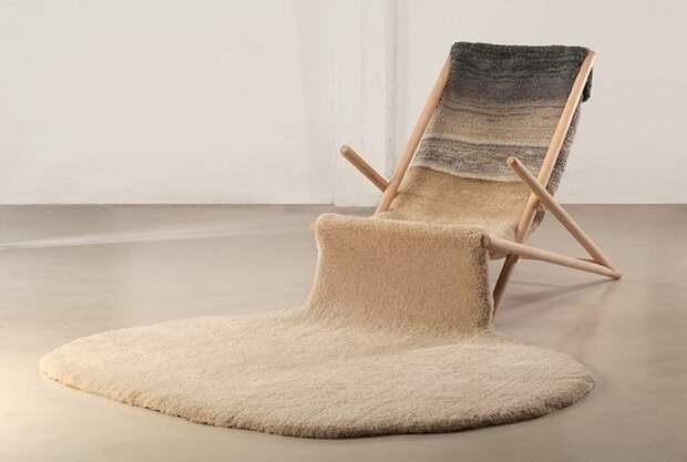 Гибрид кресла и ковра