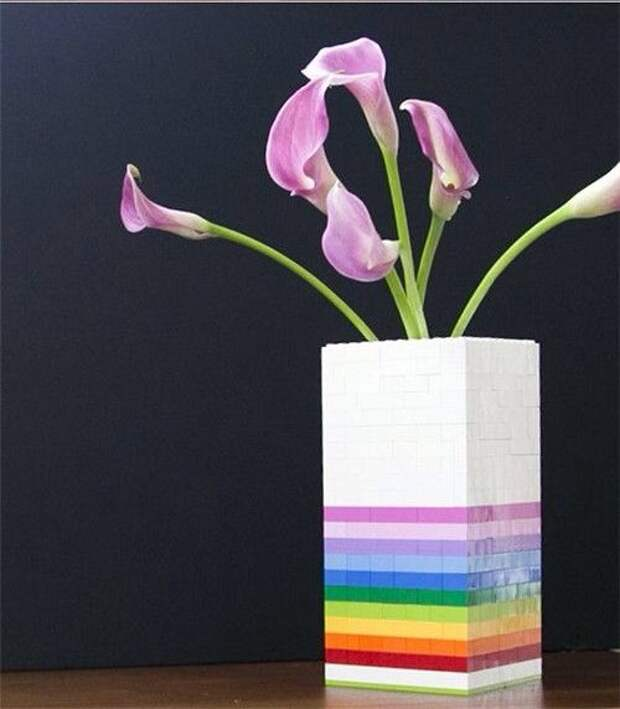 Лего ваза (Diy)