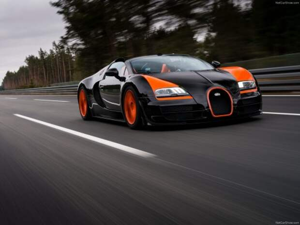 Volkswagen завершил продажи Bugatti Veyron