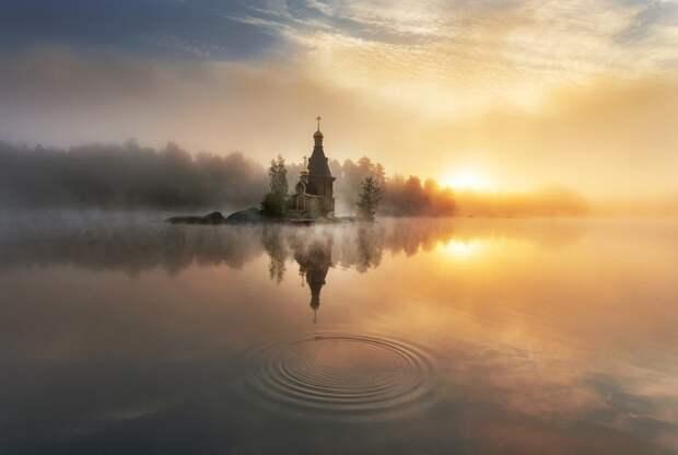 4. Река Вуокса. Фото: Эдуард Гордеев