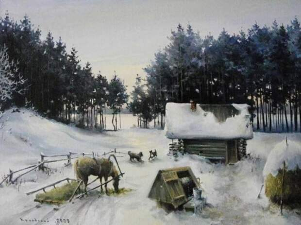 художник Владимир Краевский картины – 67