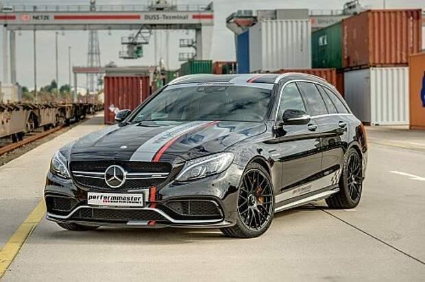 Универсал Mercedes-AMG доставит на дачу со скоростью суперкара