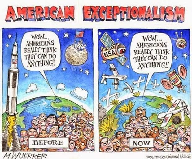 Американская исключительность – неуместная шутка