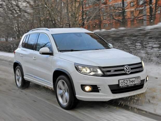 Volkswagen Tiguan R-Line: оборотень