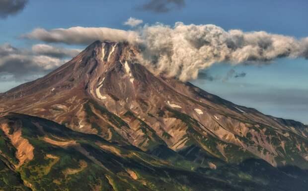 Вулкан Вилючинский земля, красота, природа, россия